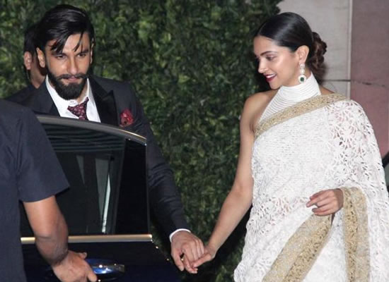 Deepika and Ranveer drive to set separately while shooting for a film!