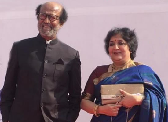 Superstar Rajinikanth's loveable moments with wife Latha!