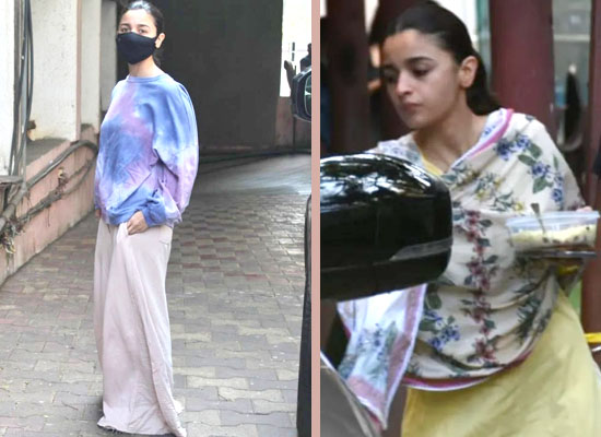 Alia Bhatt's stylish avatar in oversized OOTD and floral ethnic wear!