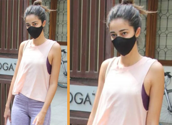 Ananya Panday's sporty look for her Yoga class!