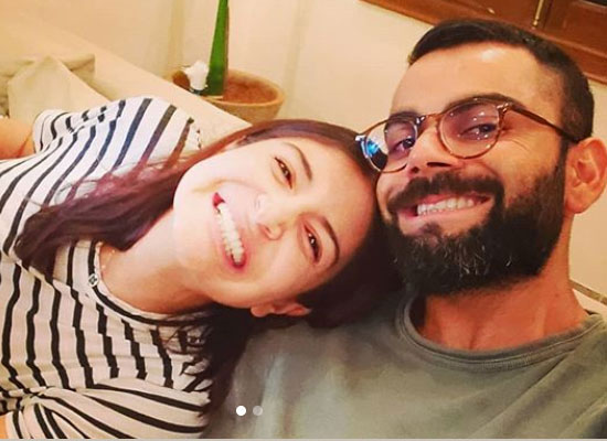 Virat Kohli and Anushka Sharma show their goofy side in a selfie amid the lockdown!