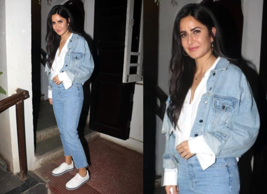 Katrina Kaif flashes her charismatic smile after a photo shoot!