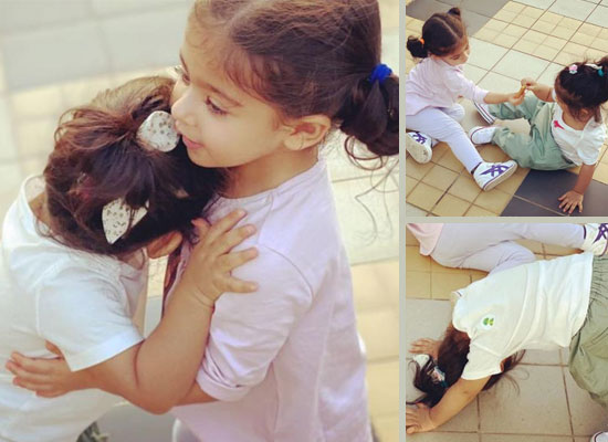 Neha Dhupia to share loveable moments of her daughter Mehr and Inaaya Kemmu!