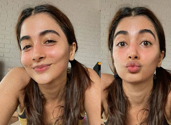 Pooja Hegde flaunts her happy post workout face!
