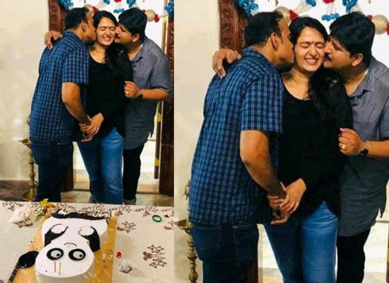 Anushka Shetty's lovely moments with her brothers!