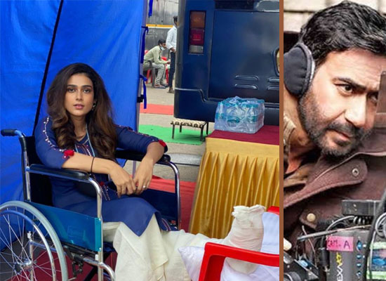 Aakanksha Singh continues to shoot for Mayday despite ankle injury!