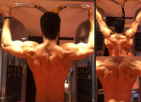 Tiger Shroff to share a sneak peek of his 'sculpted' body!