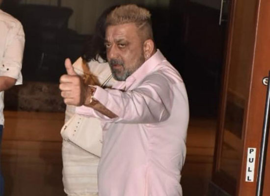 Sanjay Dutt announces his victory over cancer!