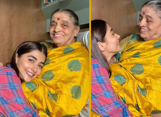 Pooja Hegde's enjoyable moments with her grandma amid lockdown!
