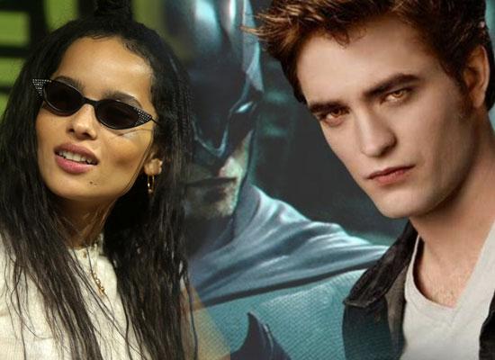 Zoe Kravitz opens up on Robert Pattinton's casting as Batman!
