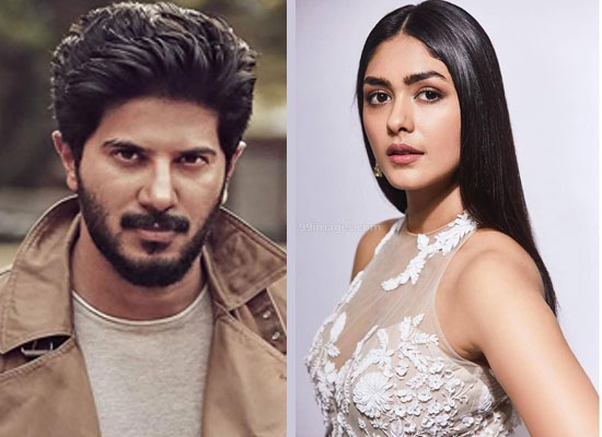 Mrunal Thakur to unite with Dulquer Salmaan in Hanu Raghavapudi's next?