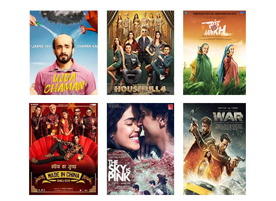 Latest Box Office for this week till 6th November, 2019!