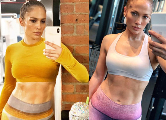 Jennifer Lopez gives us major fitness goals as she flaunts her abs at 50!