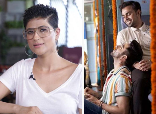 Tahira Kashyap opens up about hubby Ayushmann's kissing scene with a man!