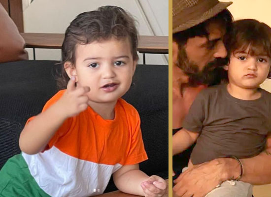 Arjun Rampal to share son Arik's loveable pic wearing a tricolor tee!