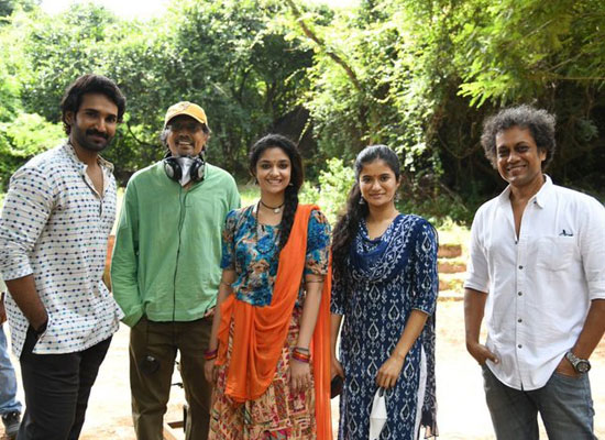 Makers wrap up the shooting of the Keerthy Suresh starrer Good Luck Sakhi!