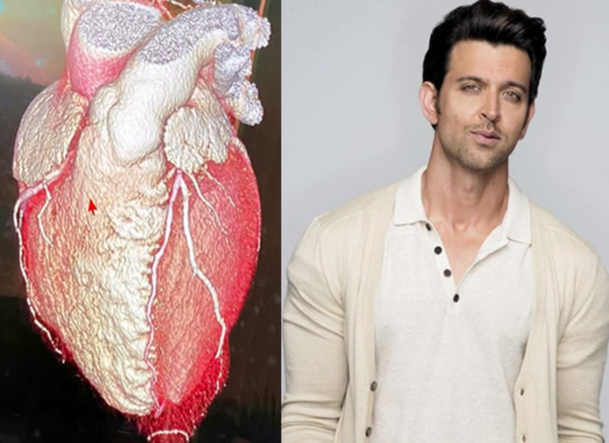 Hrithik Roshan's emotional message for his fans with a photo of his heart!