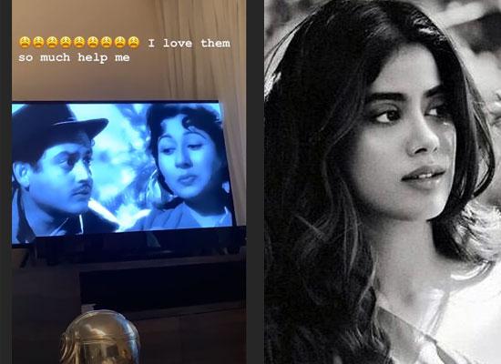 Janhvi Kapoor loves to watch Guru Dutt and Madhubala in Mr and Mrs '55!