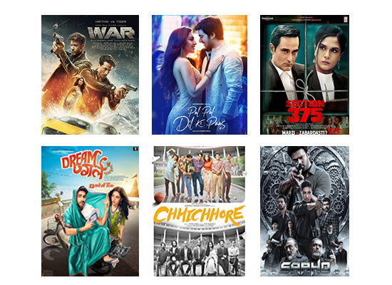 Latest Box Office for this week till 9th October, 2019!
