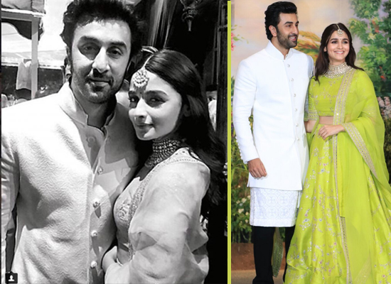 Ranbir Kapoor and Alia Bhatt's lovely photo from their first public appearance!