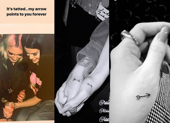 Selena Gomez and BFF Julia Michaels get matching tattoos!
