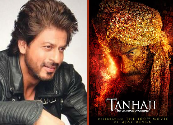SRK to pen a sweet note for Ajay Devgn's 100th film Tanhaji: The Unsung Warrior!