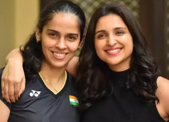 I didn't want to act like Saina, I wanted to be Saina, says Parineeti Chopra!