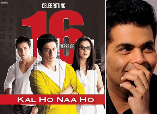 Karan Johar pens an emotional note for Kal Ho Naa Ho!