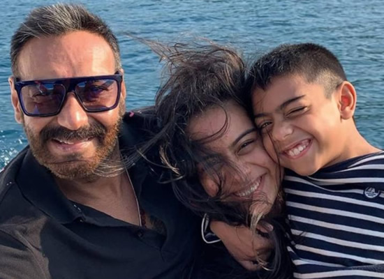 Ajay Devgn opens up on his kids Nysa and Yug being trolled on social media!