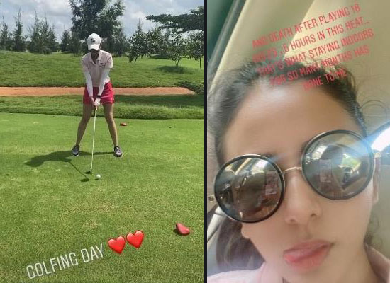 Rakul Preet Singh to share a fun selfie after playing golf for five hours!