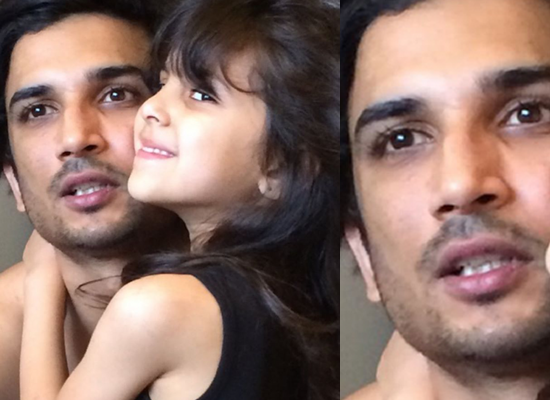 Late actor Sushant Singh Rajput's loveable moments with his niece 'Freyju'!