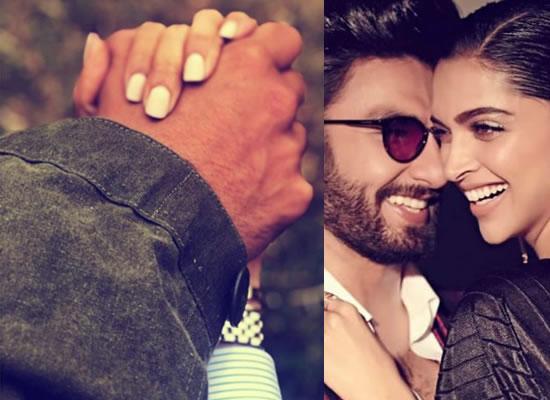 Deepika Padukone's romantic message for hubby Ranveer Singh in a cute way!