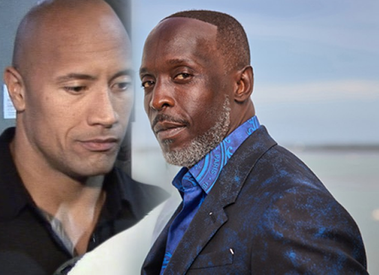 Dwayne Johnson's emotional tribute for late actor Michael K. Williams!
