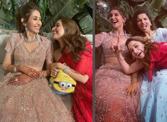 Tamannaah Bhatia plays a perfect bridesmaid at BFFs wedding!