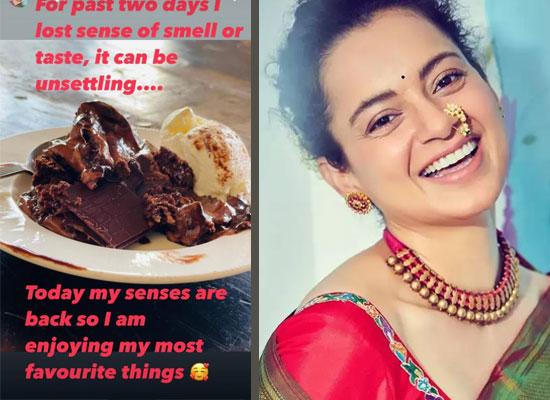 Kangana Ranaut enjoys her favourite things after winning COVID 19 battle!