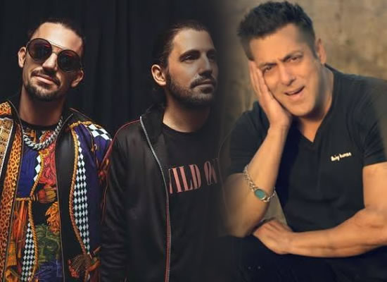 Belgian DJ duo want to work with Salman Khan!