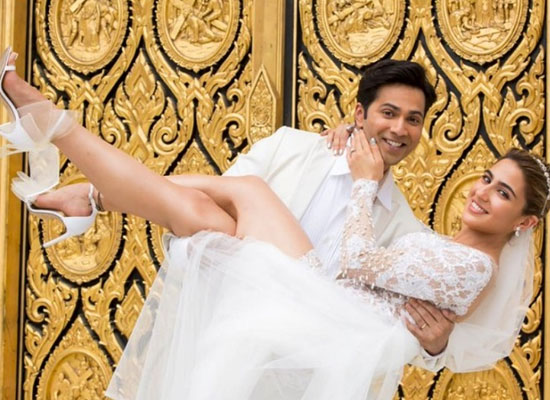 Varun Dhawan and Sara Ali Khan's romantic shoot in Goa for Coolie No 1!