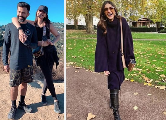 Sonam Kapoor and Anand Ahuja's romantic moments during their vacation!