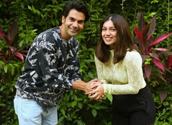 Bhumi Pednekar opens up on working with Rajkummar Rao in Badhaai Do!