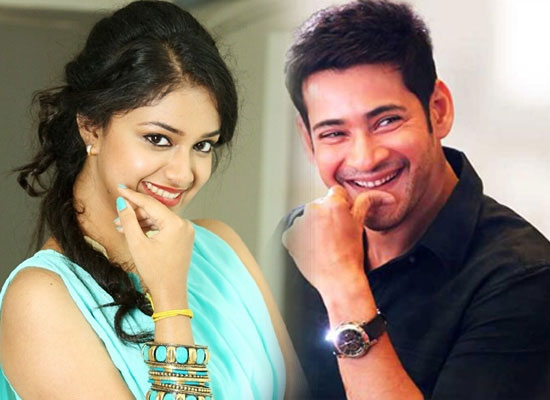 Mahesh Babu recommends Keerthy Suresh for his next with Parasuram?