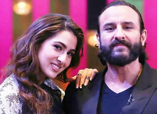 Sara Ali Khan opens up about her bond with Saif Ali Khan!