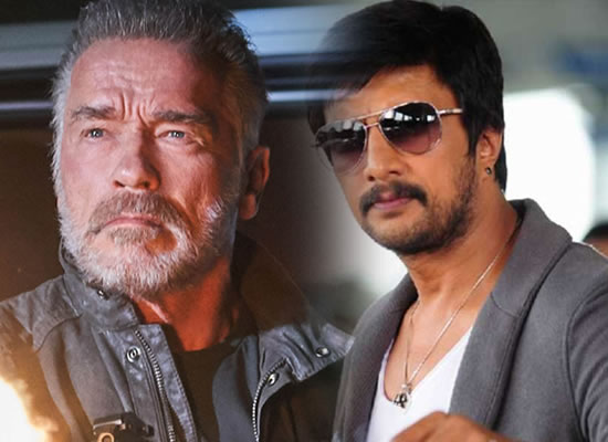 Arnold Schwarzenegger is the 'original action legend', says Kiccha Sudeep!