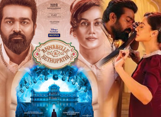 Taapsee Pannu and Vijay Sethupathi starrer Annabelle Sethupathi gets a release date!