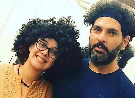 Hazel Keech's lovely note for hubby Yuvraj Singh on social media!