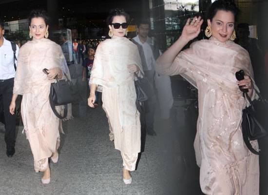 Kangana Ranaut's latest ethnic avatar!