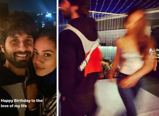Shahid Kapoor's loveable note on the blurred pic of wife Mira Rajput!