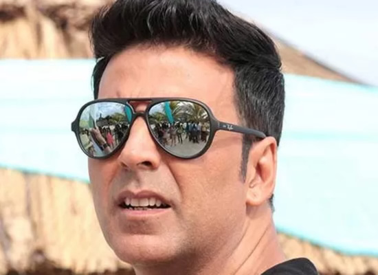 AKKI'S NO LONGER THE KHILADI